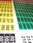 Regal-Nummerierung